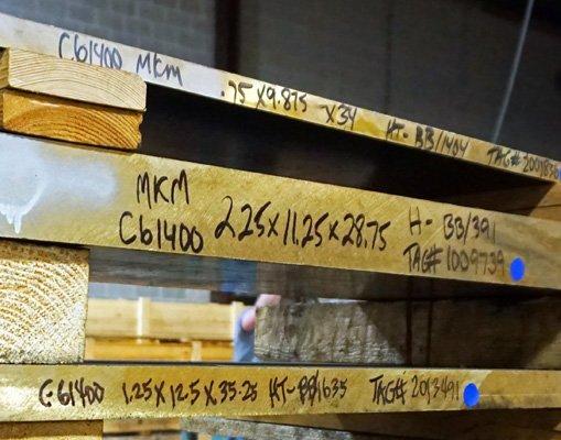 Plate C61300 & C61400 ALUMINUM BRONZE